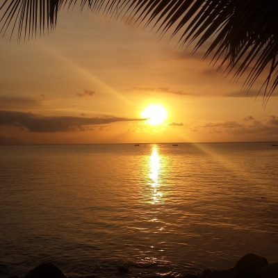 Roatan Island Landscapes and Weather